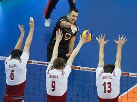 Superstar Georg Grozer zeigte eine Topleistung gegen Polen. Olympia muss er trotzdem von der Couch aus verfolgen.
