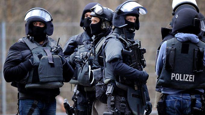 Die SEK-Kräfte kommen in Duisburg und Umgebung zum Einsatz.