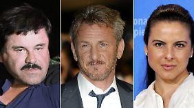 """Joaquin """"El Chapo"""" Guzmán, Sean Penn und Kate el Castillo"""