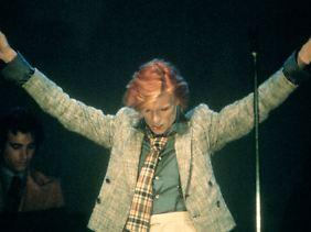 Bowie bei einem Auftritt 1975.
