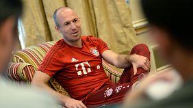 """Wir sind selbst schuld"": Arjen Robben."
