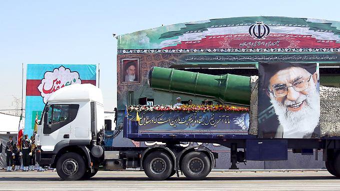 Das Raketenprogramm des Irans gilt als Trumpf.