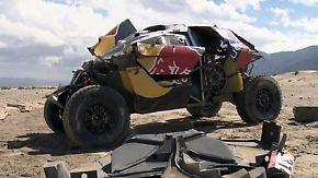 Überschlag bei der Rallye Dakar: Spektakulärer Crash wirft Sebastien Loeb aus Titelrennen