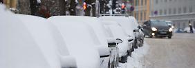Es wird immer kälter: Der Winter kommt ins ganze Land