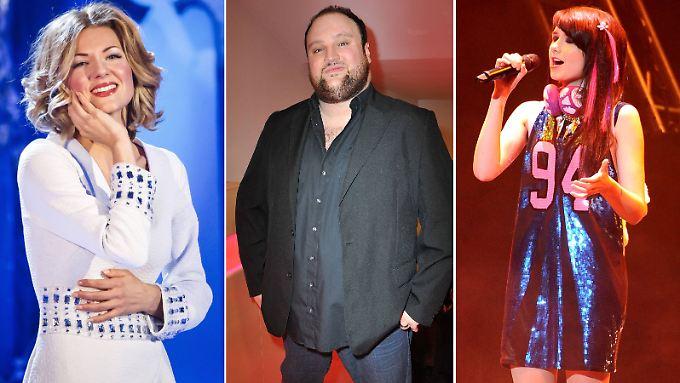 Drei von denen, die es wissen wollen: Ella Endlich, Alex Diehl und Jamie-Lee Kriewitz.
