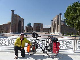 Samarkand in Usbekistan.