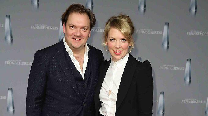 Charly Hübner und seine Frau Lina Beckmann.