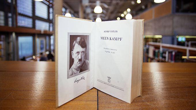 Im Dezember 2015, 70 Jahre nach Hitlers Todesjahr, waren die Urheberrechte an dessen Buch erloschen.