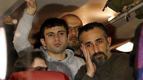 Die Syrer aus Landshut war es nur ein kurzer Besuch in Berlin.