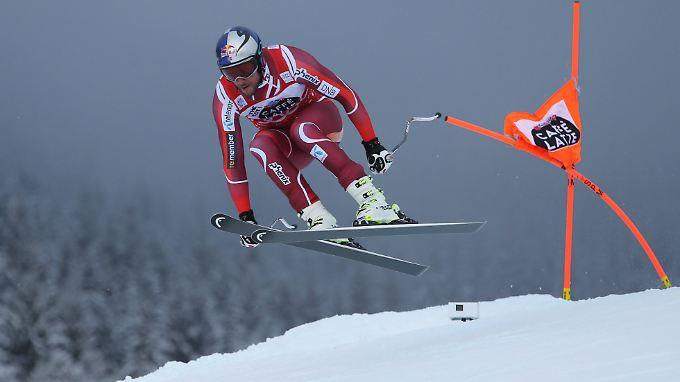 Aksel Lund Svindal ist von der Konkurrenz derzeit nicht zu stoppen.