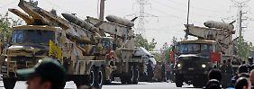 """""""Weiterhin schwere Differenzen"""": USA verhängen neue Sanktionen gegen Iran"""