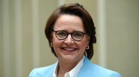 Annette Widmann-Mauz sitzt seit September 2015 der Frauen-Union vor.