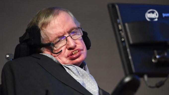 Stephen Hawking warnt die Menschheit vor der Selbstzerstörung.
