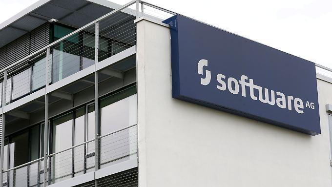 Der Rpckkauf eigener Aktien bringt den Kurs der Software AG in Schwung.