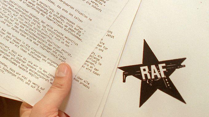 Die Auflösungserklärung der RAF.