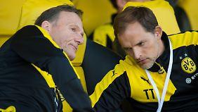 Hans-Joachim Watzke setzt auf das Können von BVB-Trainer Thomas Tuchel.