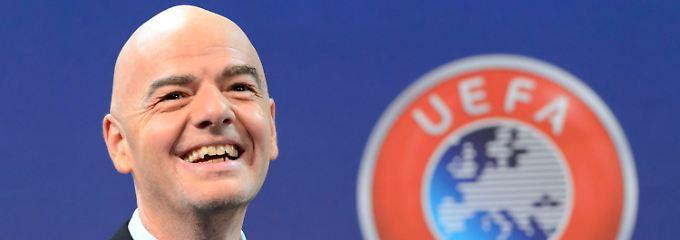 """""""Gianni Infantino ist der Kandidat der Europäer und der beste Bewerber."""""""
