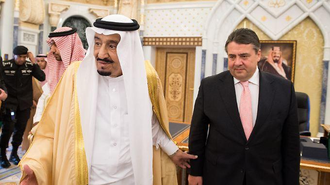 Regelmäßige Besuche deutscher Spitzenpolitiker am Golf fördern den Exporterfolg in der Region.