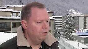 """RWE-Chef Terium in Davos: """"Ich glaube nicht, dass meine Sorgen noch größer werden können"""""""