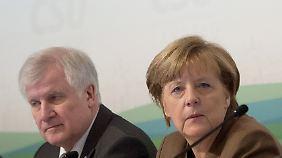 CSU verärgert über Nein zu Obergrenze: Merkel lässt sich in Kreuth nicht beirren