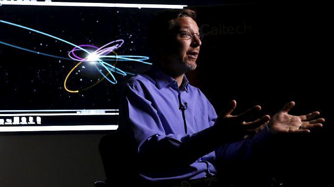 """Astronom und """"Plutokiller"""" Mike Brown ist sich sicher: Seine Entdeckung ist ein Planet."""