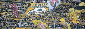 Und die Hütte ist immer voll: Dynamo Dresden.