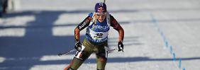 Schwächster Sprint des Winters: Biathletinnen laufen in Antholz hinterher