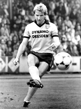 Hans-Jürgen Dörner bestritt 392 Oberligaspiele für Dynamo Dresden.