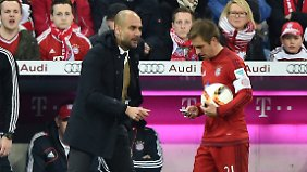 Philipp Lahm wird seine Karriere beim FC Bayern beenden. Wann genau, lässt er trotz Vertrags bis 2018 offen.