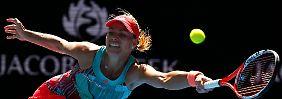 Australien Open mit deutschem Duell: Kerber und Beck machen Achtelfinale perfekt