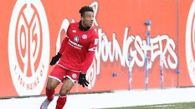 Noch darf Neuzugang Karim Onisiwo nicht für Mainz auflaufen.