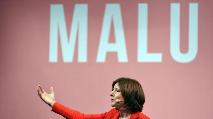 """Kämpft mit vollem Einsatz gegen """"Fremdenfeinde und Rattenfänger"""": Malu Dreyer."""
