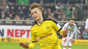 Marco Reus schoss Dortmund in Führung.