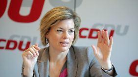 """Rückenwind für Klöckners """"Plan A2"""": In der CDU rumort es gewaltig"""