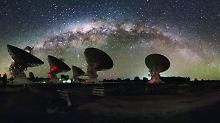 Flackern im Radiowellenbereich: Klumpen wabern in der Milchstraße