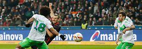 Last-Minute-Sieg für Frankfurt: Der dreifache Meier besiegt Wolfsburg