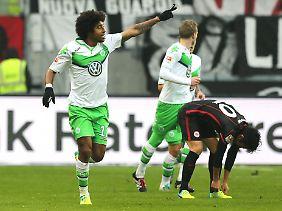 Das erste Tor des Tages hatte Wolfsburgs Dante erzielt.