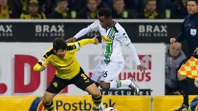 Während Ibrahima Traoré gegen Dortmund auf dem Platz stand, wurde bei ihm eingebrochen.