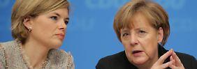 """Kanzlerin auf Distanz zu Klöckner: Merkel: """"Plan A2 ist eigenständige Initiative"""""""