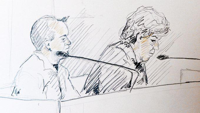 Zehn Jahre Haft für den Allgemeinmediziner Martin Trenneborg (hier links im Bild).
