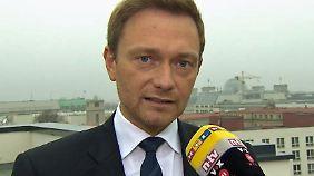 """FDP-Chef Lindner zur Flüchtlingspolitik: """"Merkel hat Deutschland in Europa isoliert"""""""