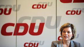 """Nervosität bei CDU-Wahlkämpfern: Klöckner verlangt """"tagesaktuelle Flüchtlingskontingente"""""""