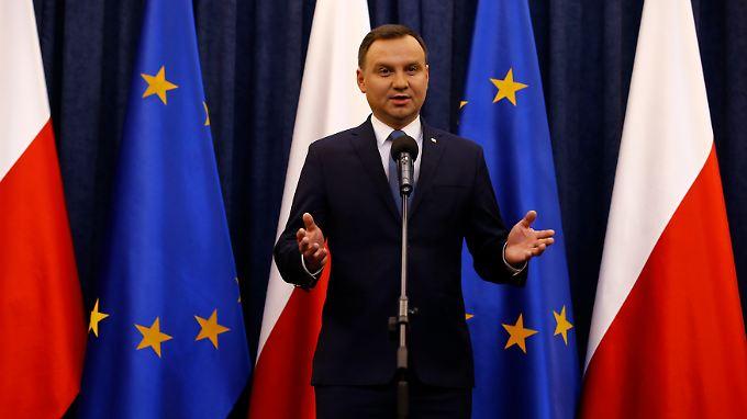 Wirtschaftspolitik mit der Steuerschraube? Polens Präsident Andrzej Duda.
