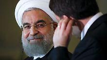 Ruhani auf Werbetour in Europa: Der Iran ist zurück auf dem Weltmarkt