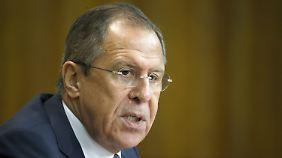 Laut Lawrow hält Russlands Regierung über einen Anwalt Kontakt zu der Familie des Mädchens in Berlin.