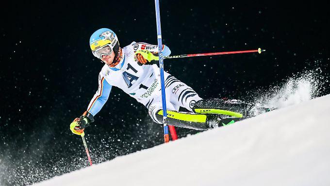 Starke Leistung im ersten Durchgang: Felix Neureuther.
