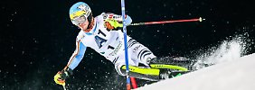 Felix Neureuther of Germany competes in the 1st run of the men's Slalom race at the Alpine Skiing World Cup in Schladming, Austria, 26 January 2016. EPA/EXPA/JOHAN