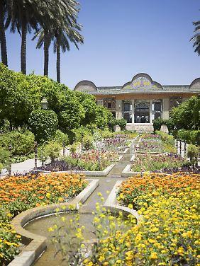 """Die Stadt Schiras nennt man wegen ihrer Gartenkultur auch """"Garten des Iran""""."""