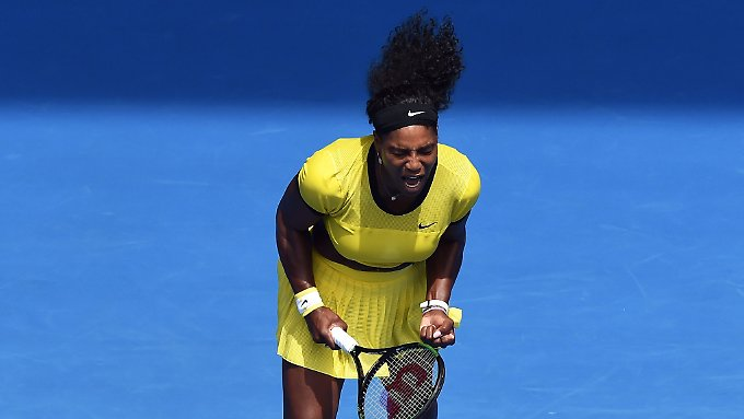 Explodierte gegen Radwanska förmlich: Serena Williams