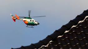 Auch mit Hubschraubern suchte die Polizei nach Aylin.